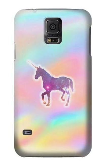 S3203 Rainbow Unicorn Case For Samsung Galaxy S5 mini