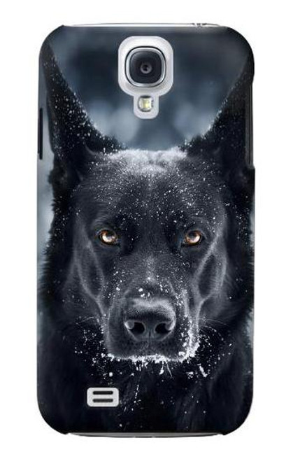 S3168 German Shepherd Black Dog Case For Samsung Galaxy S4