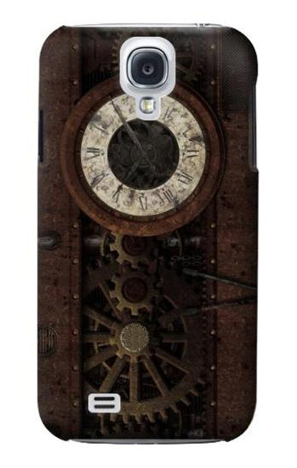 S3221 Steampunk Clock Gears Case For Samsung Galaxy S4