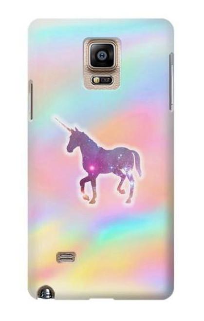 S3203 Rainbow Unicorn Case For Samsung Galaxy Note 4