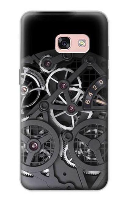 S3176 Inside Watch Black Case For Samsung Galaxy A3 (2017)