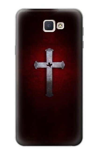 S3160 Christian Cross Case For Samsung Galaxy J7 Prime (SM-G610F)