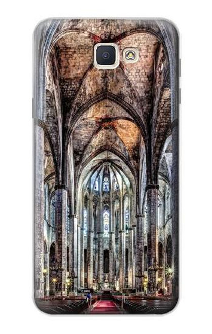 S3210 Santa Maria Del Mar Cathedral Case For Samsung Galaxy J7 Prime (SM-G610F)