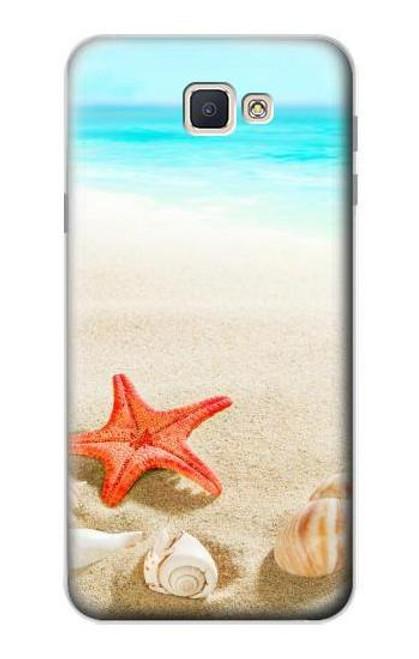 S3212 Sea Shells Starfish Beach Case For Samsung Galaxy J7 Prime (SM-G610F)