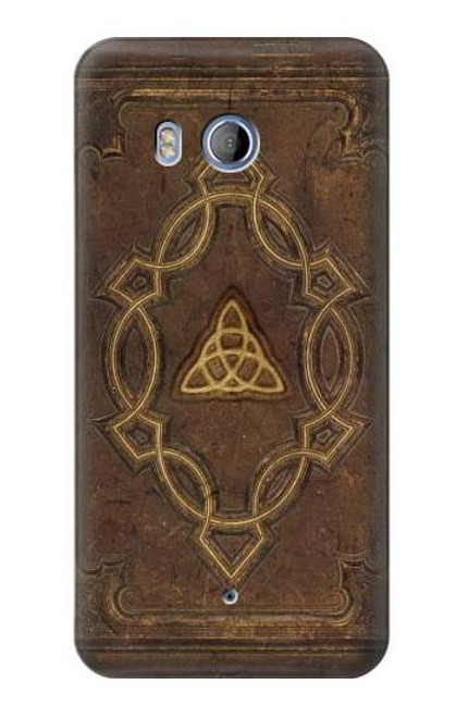 S3219 Spell Book Cover Case For HTC U11