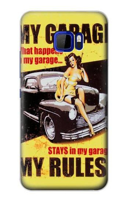 S3198 My Garage Pinup Girl Case For HTC U Ultra