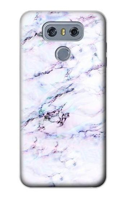 S3215 Seamless Pink Marble Case For LG G6