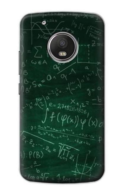 S3190 Math Formula Greenboard Case For Motorola Moto G5 Plus