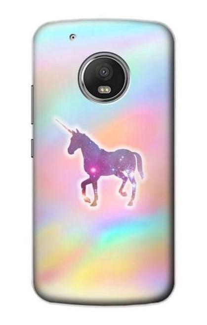 S3203 Rainbow Unicorn Case For Motorola Moto G5 Plus