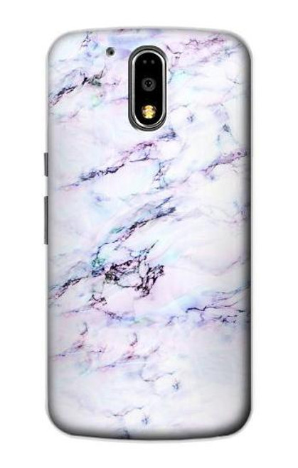 S3215 Seamless Pink Marble Case For Motorola Moto G4, G4 Plus