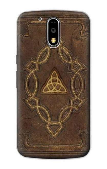 S3219 Spell Book Cover Case For Motorola Moto G4, G4 Plus