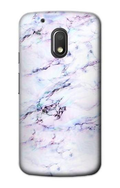 S3215 Seamless Pink Marble Case For Motorola Moto G4 Play