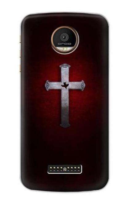 S3160 Christian Cross Case For Motorola Moto Z Force, Z Play