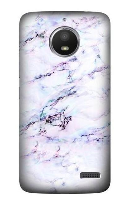 S3215 Seamless Pink Marble Case For Motorola Moto E4