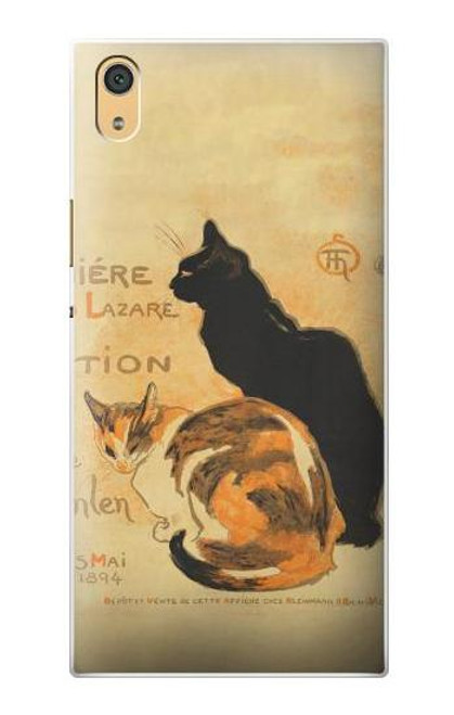 S3229 Vintage Cat Poster Case For Sony Xperia XA1 Ultra