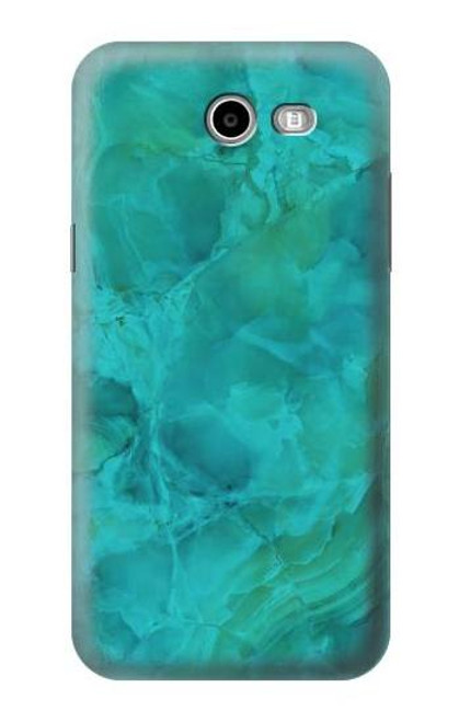 S3147 Aqua Marble Stone Case For Samsung Galaxy J7 (2017), J7 Perx, J7V, J7 Sky Pro