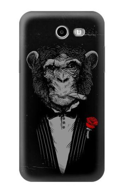 S3167 Funny Monkey God Father Case For Samsung Galaxy J7 (2017), J7 Perx, J7V, J7 Sky Pro