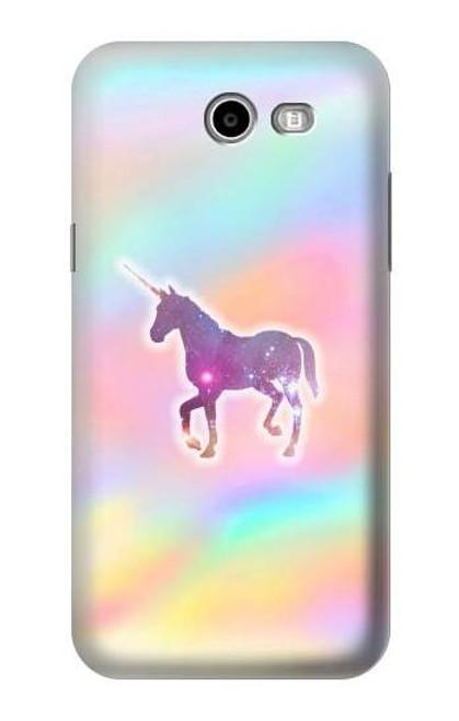 S3203 Rainbow Unicorn Case For Samsung Galaxy J7 (2017), J7 Perx, J7V, J7 Sky Pro
