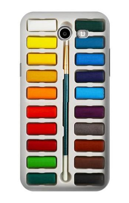S3243 Watercolor Paint Set Case For Samsung Galaxy J7 (2017), J7 Perx, J7V, J7 Sky Pro