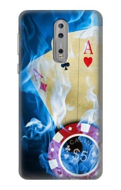 S0348 Casino Case For Nokia 8
