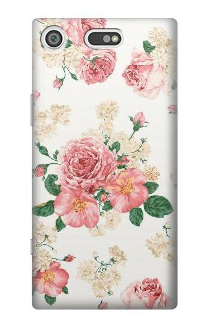 S1859 Rose Pattern Case For Sony Xperia XZ1 Compact