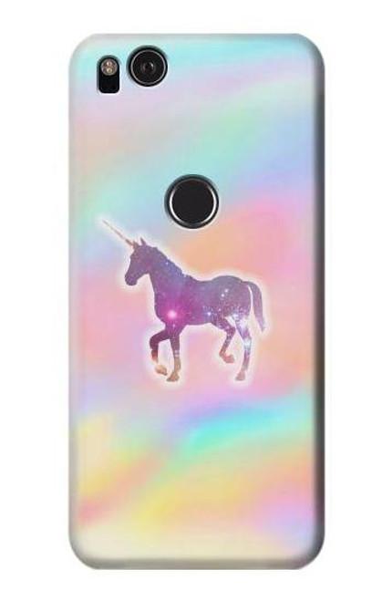 S3203 Rainbow Unicorn Case For Google Pixel 2