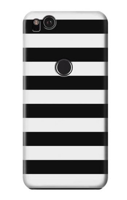 S1596 Black and White Striped Case For Google Pixel 2 XL