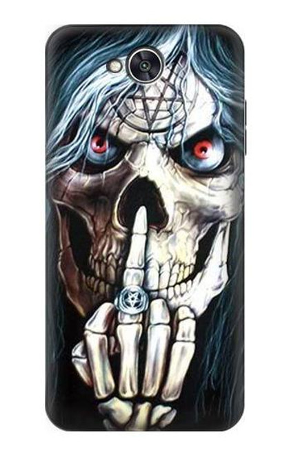 S0222 Skull Pentagram Case For LG X power2, LG X Charge, LG K10 Power, LG Fiesta