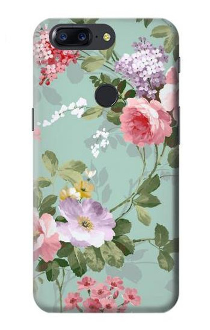 S2178 Flower Floral Art Painting Case For OnePlus 5T