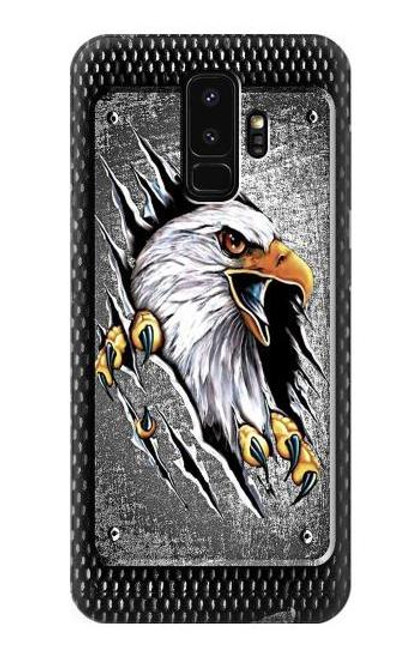 S0855 Eagle Metal Case For Samsung Galaxy S9 Plus