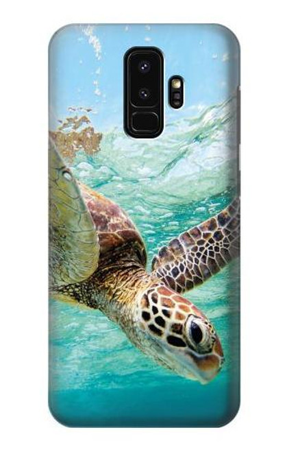 S1377 Ocean Sea Turtle Case For Samsung Galaxy S9 Plus