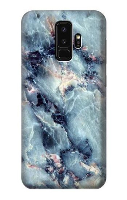S2689 Blue Marble Texture Graphic Printed Case For Samsung Galaxy S9 Plus
