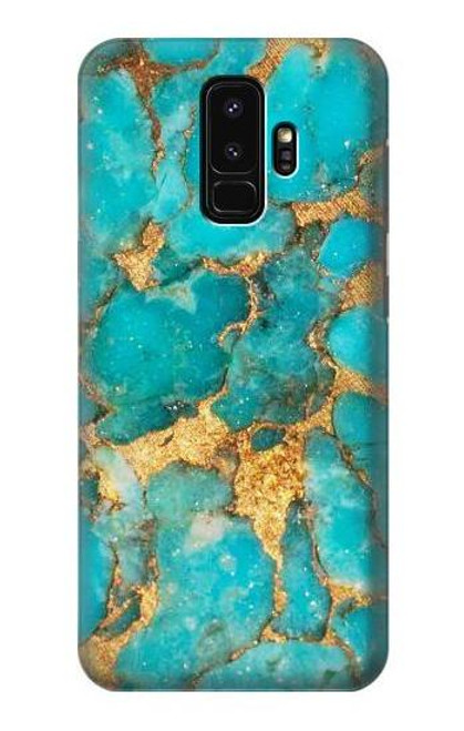S2906 Aqua Turquoise Stone Case For Samsung Galaxy S9 Plus