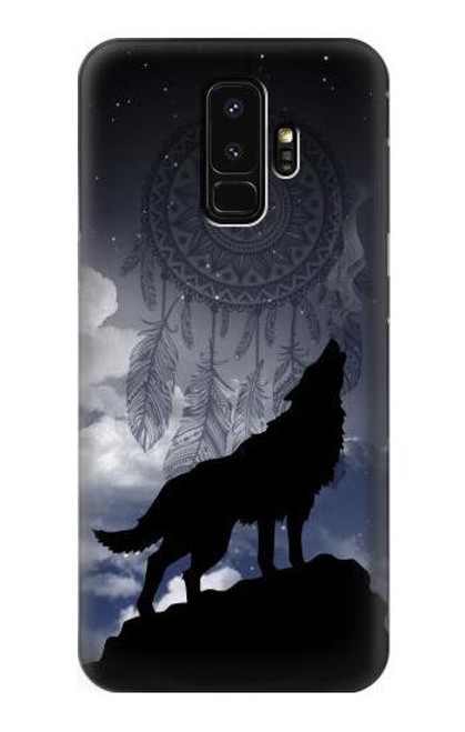 S3011 Dream Catcher Wolf Howling Case For Samsung Galaxy S9 Plus