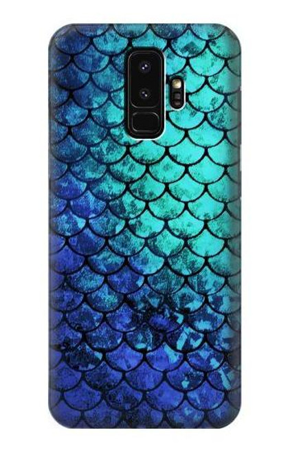 S3047 Green Mermaid Fish Scale Case For Samsung Galaxy S9 Plus