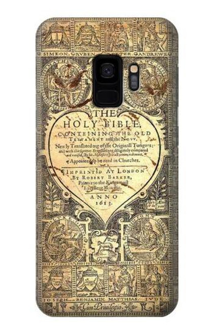 S0330 Bible Page Case For Samsung Galaxy S9