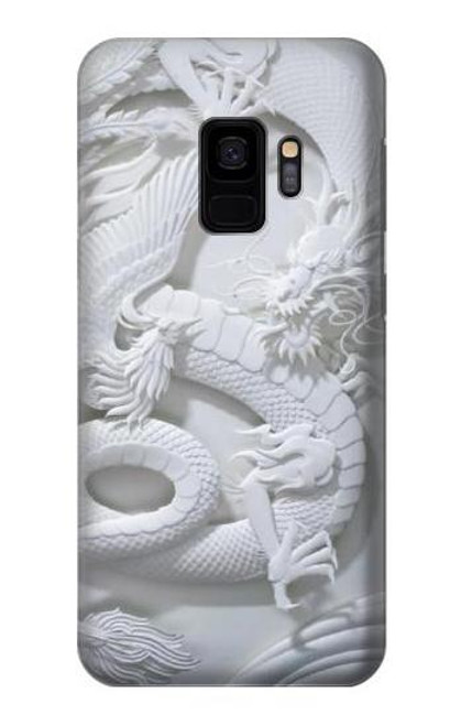 S0386 Dragon Carving Case For Samsung Galaxy S9