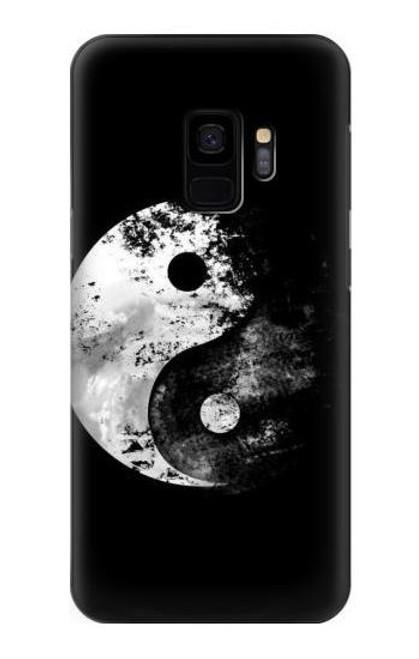 S1372 Moon Yin-Yang Case For Samsung Galaxy S9