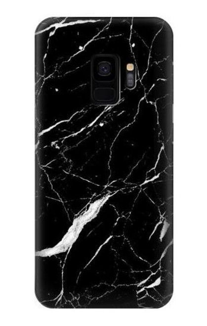 S2895 Black Marble Graphic Printed Case For Samsung Galaxy S9