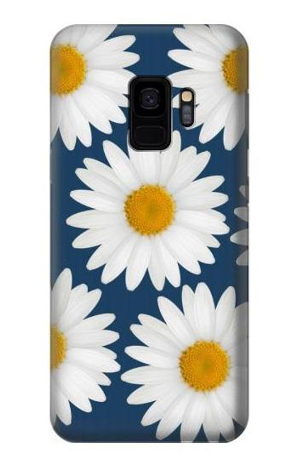 S3009 Daisy Blue Case For Samsung Galaxy S9