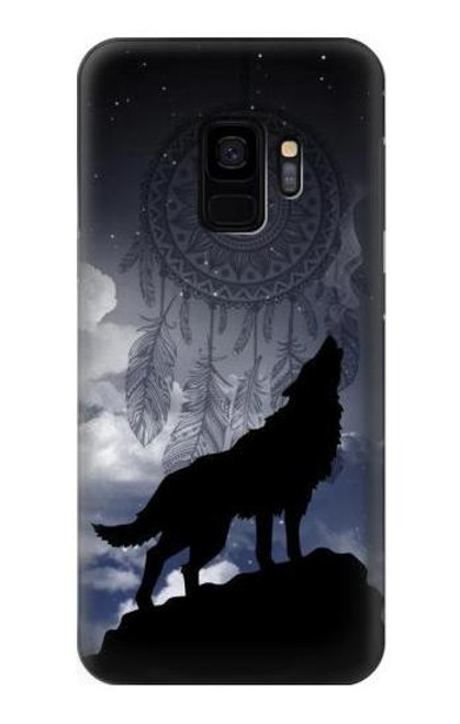 S3011 Dream Catcher Wolf Howling Case For Samsung Galaxy S9