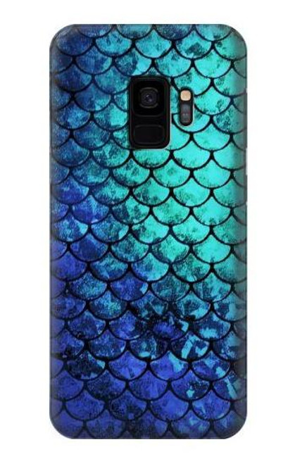 S3047 Green Mermaid Fish Scale Case For Samsung Galaxy S9