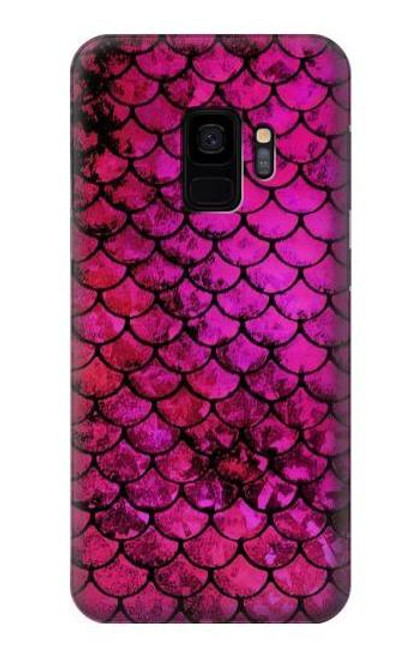 S3051 Pink Mermaid Fish Scale Case For Samsung Galaxy S9