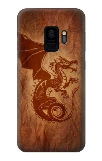 S3086 Red Dragon Tattoo Case For Samsung Galaxy S9