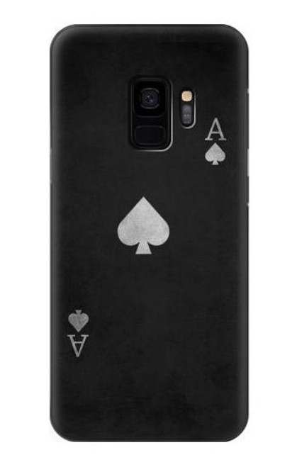 S3152 Black Ace of Spade Case For Samsung Galaxy S9