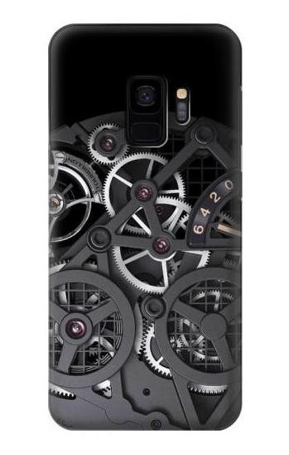S3176 Inside Watch Black Case For Samsung Galaxy S9