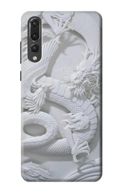 S0386 Dragon Carving Case For Huawei P20 Pro