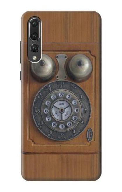 S3146 Antique Wall Retro Dial Phone Case For Huawei P20 Pro