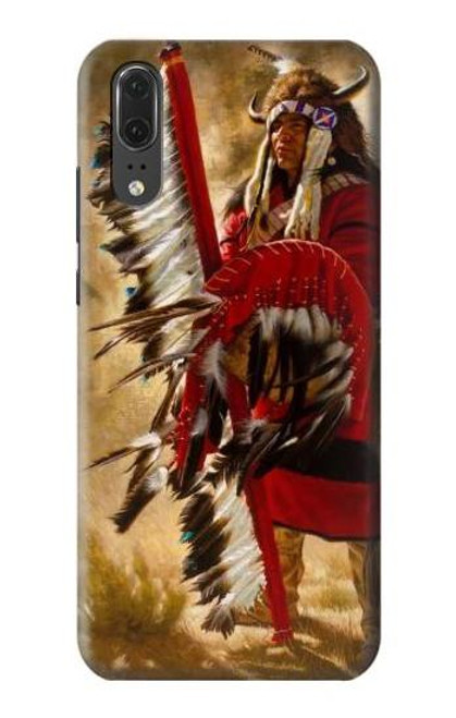 S0817 Red Indian Case For Huawei P20