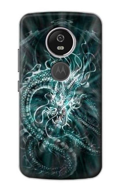 S1006 Digital Chinese Dragon Case For Motorola Moto E5 Plus